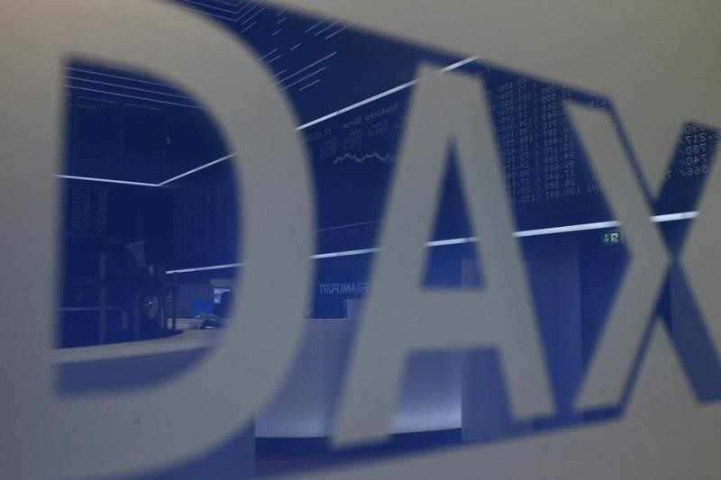 germany trade stocks dax points