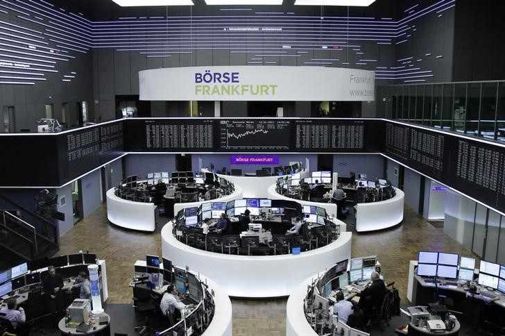 germany trade stocks points added