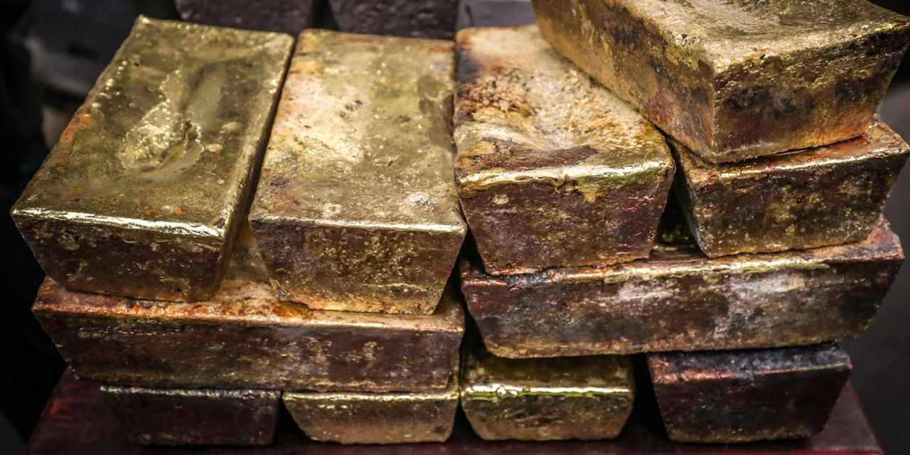 gold commodities prices trailing would
