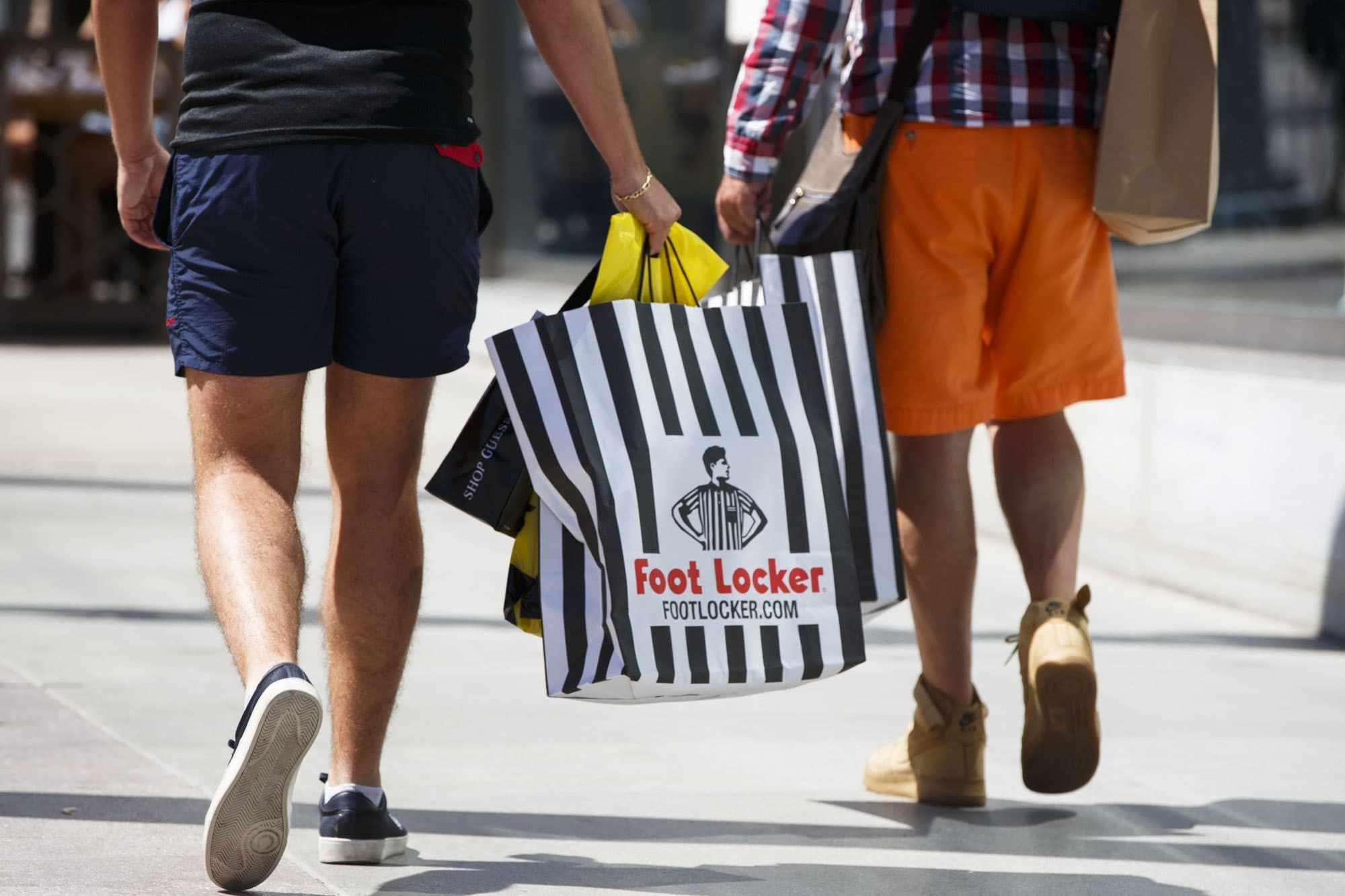 goldman foot locker shares