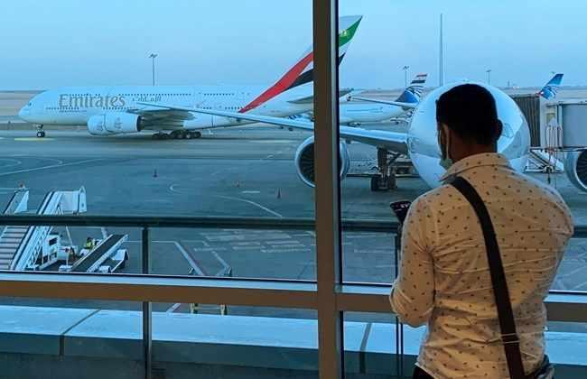 gulf dubai incident minor airport