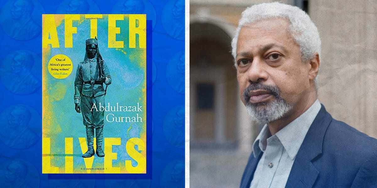 gurnah, novel, colonialism, african, abdulrazak,