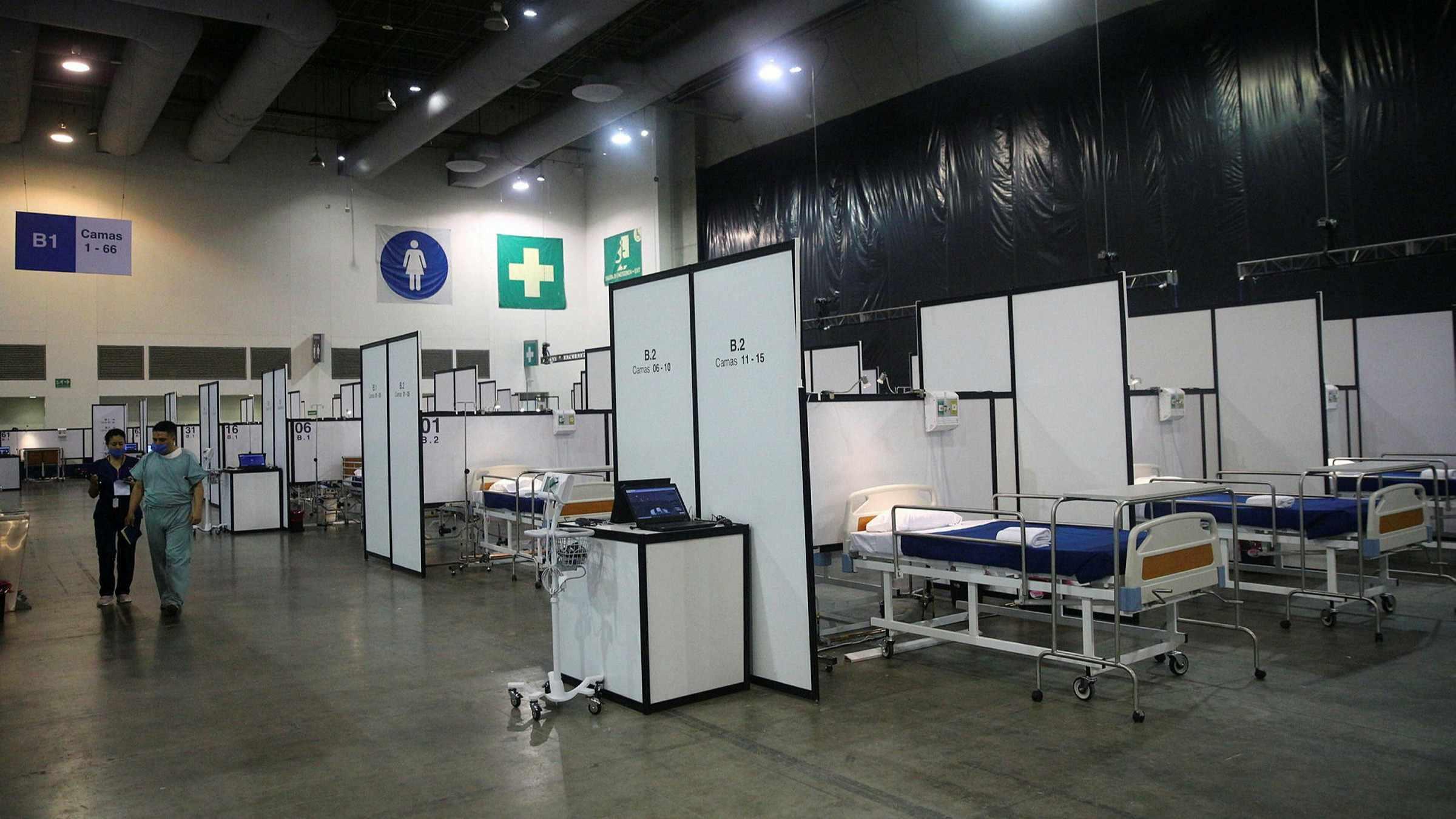 hospital, mexico, coronavirus, mexican, centre,