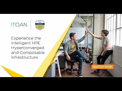 hpe hyperconverged composable infrastructure intelligent