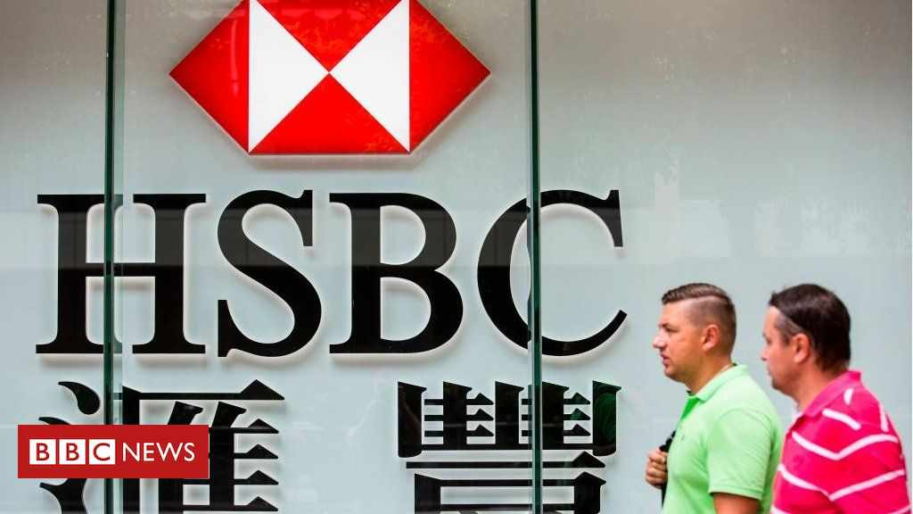 hsbc profits shifts west east