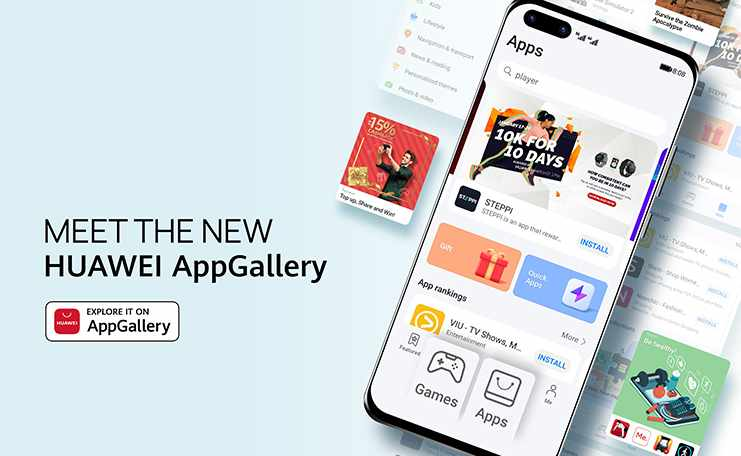 huawei users content appgallery features