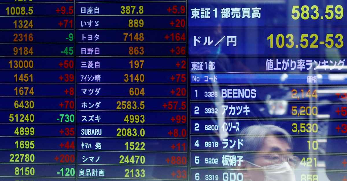 index stocks record country asia
