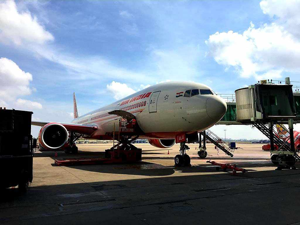 india airlines flight financial stress