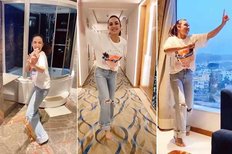 india bhasin jasmin positivity dance