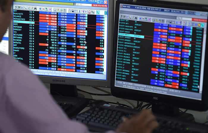 india record gains points stocks