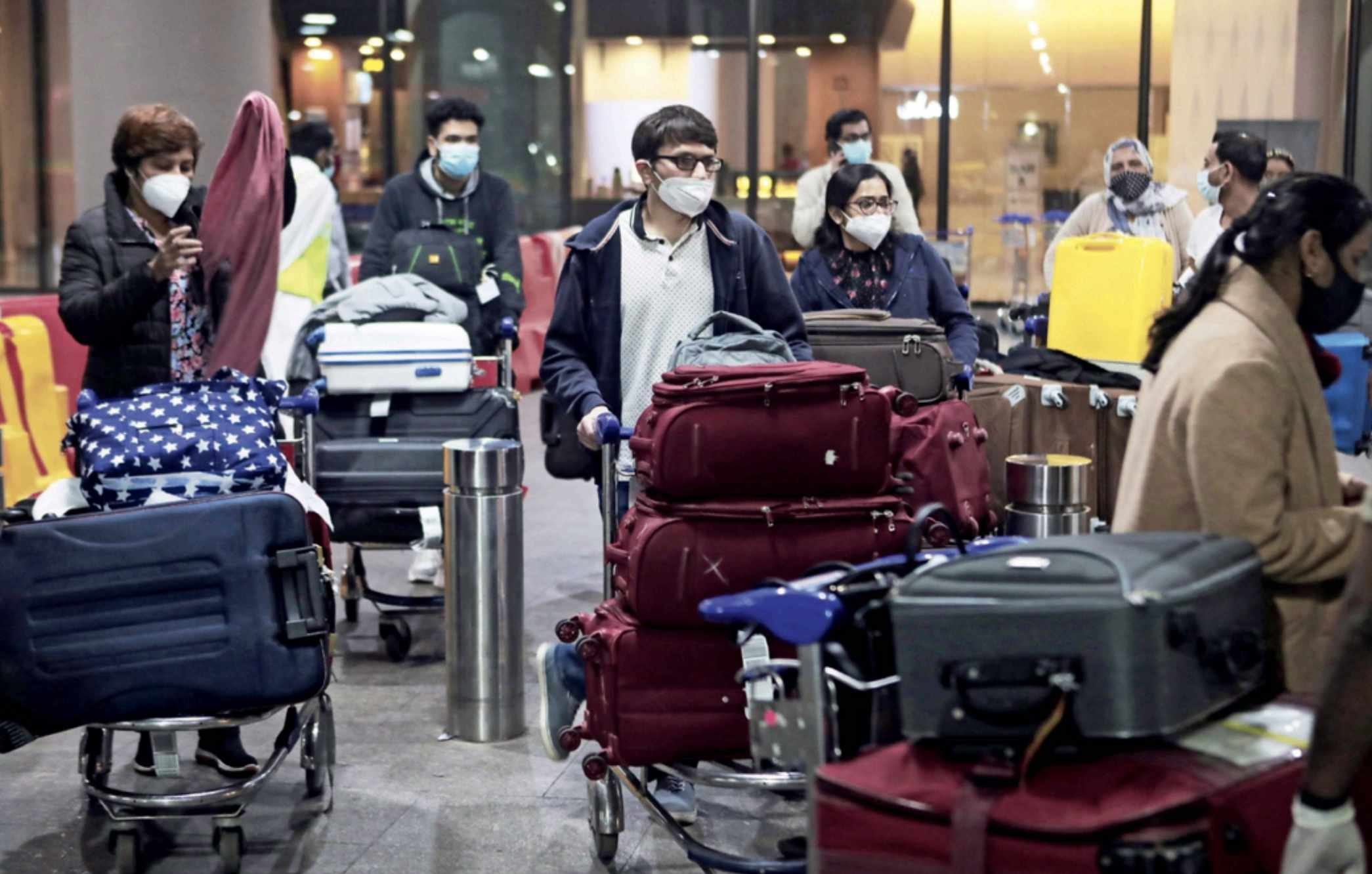 india restrictions travel covid countries