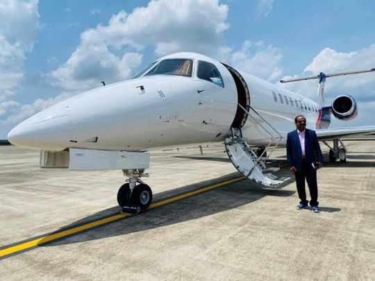 india uae family private jet