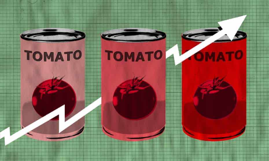 inflation tomatoes brexit recipe covid