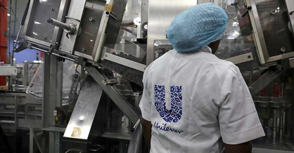 inflation unilever shares reuters overshadow