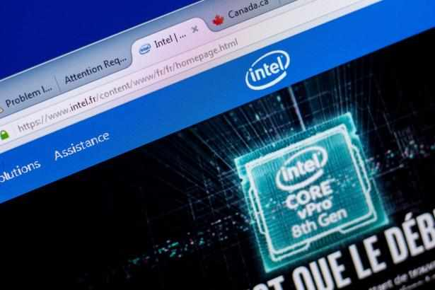 intel expectations report share earnings