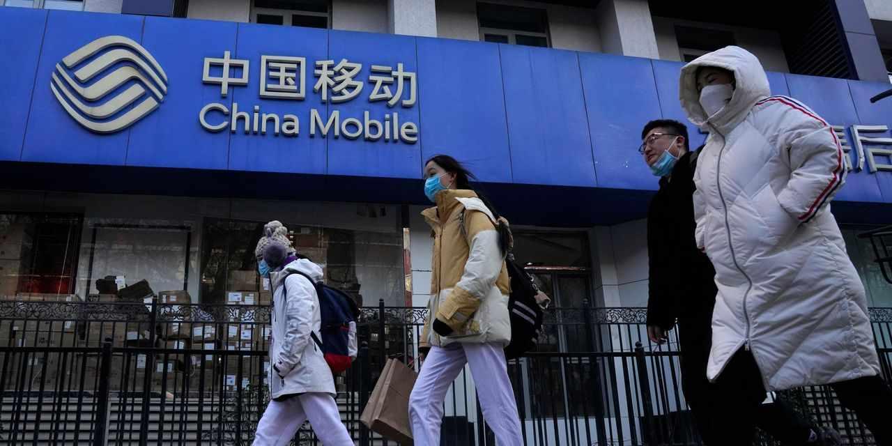 investors billions stocks blacklist chinese