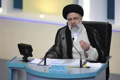 iran judiciary chief stages campaign