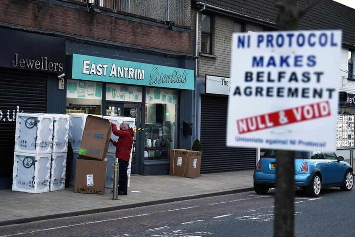 ireland checks brexit risk northern