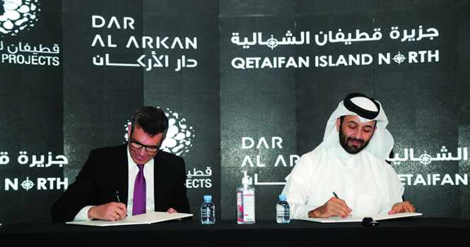 island, qetaifan, project, qatar, arkan,