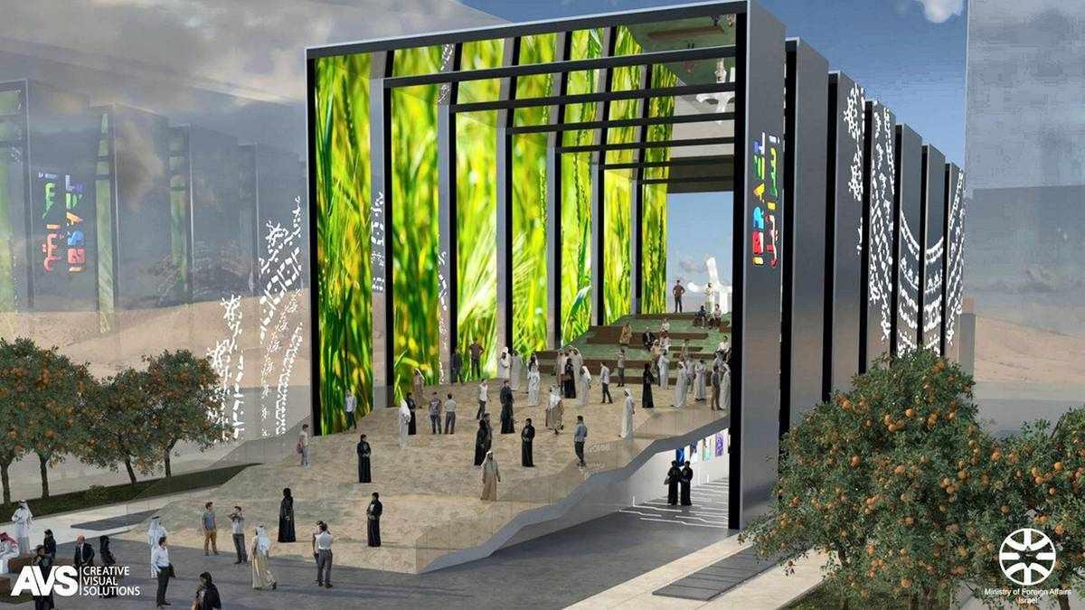 israel dubai expo-2020 pavilion expo