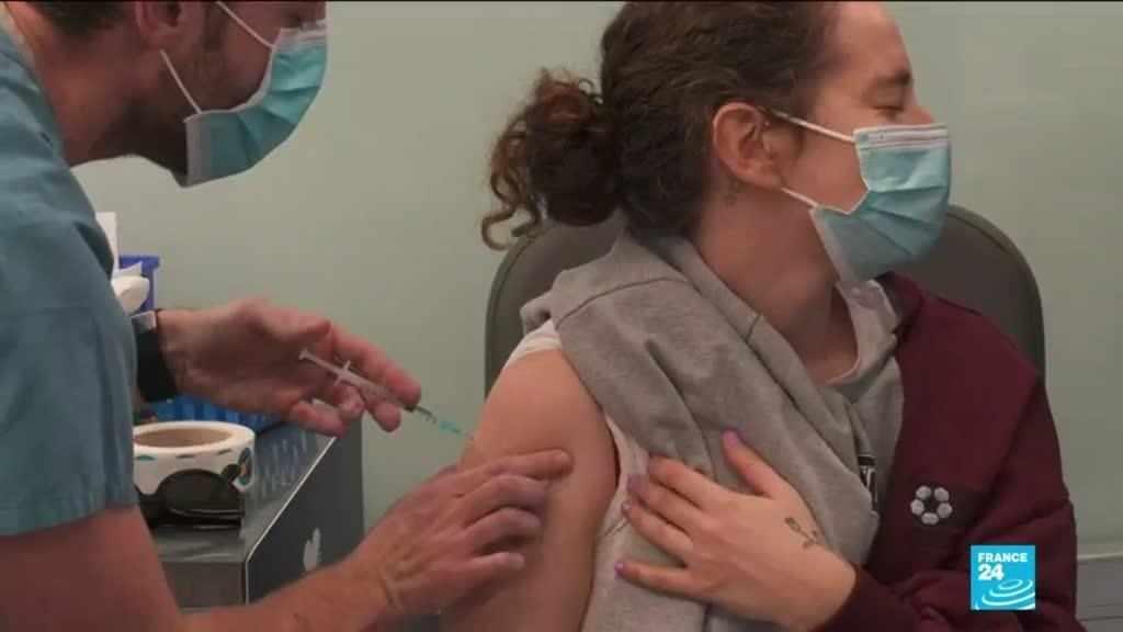 israel record setting covid vaccination