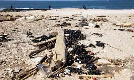 israel spill oil ship culprit