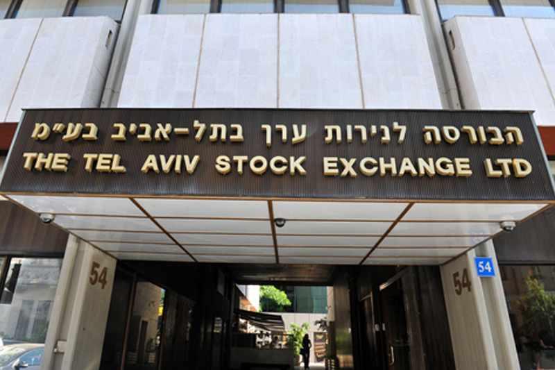 israel trade tase points stocks