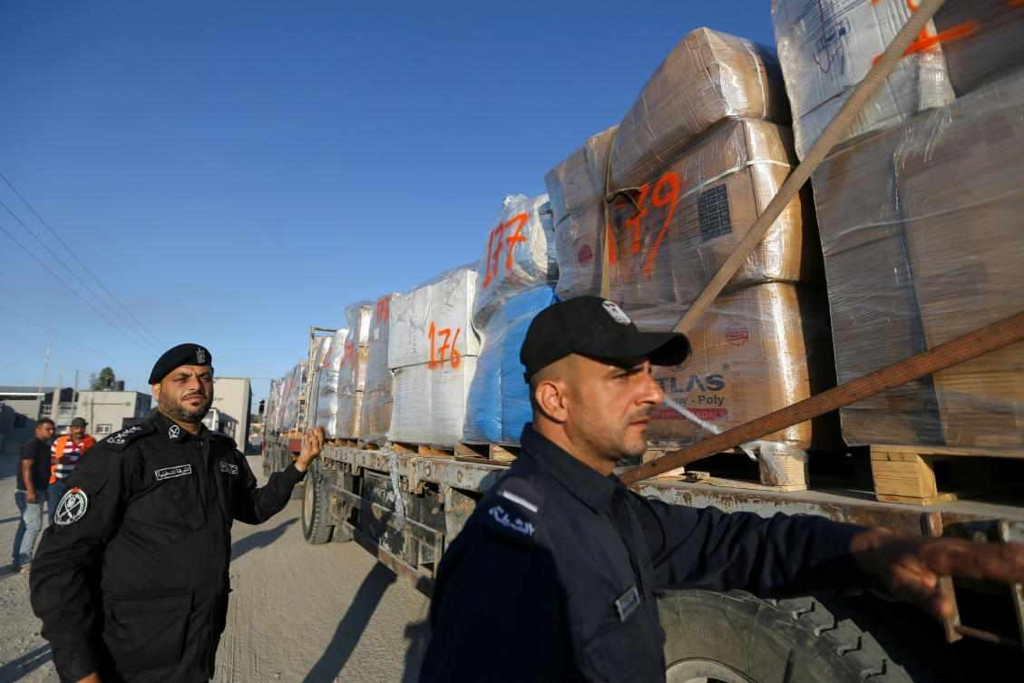 israel truce gaza hamas exports