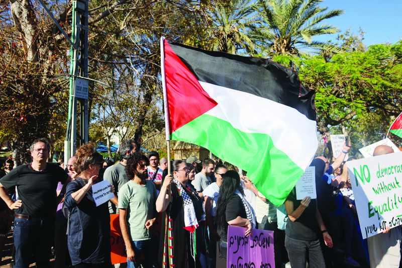 jaffa arabs eviction threat jewish