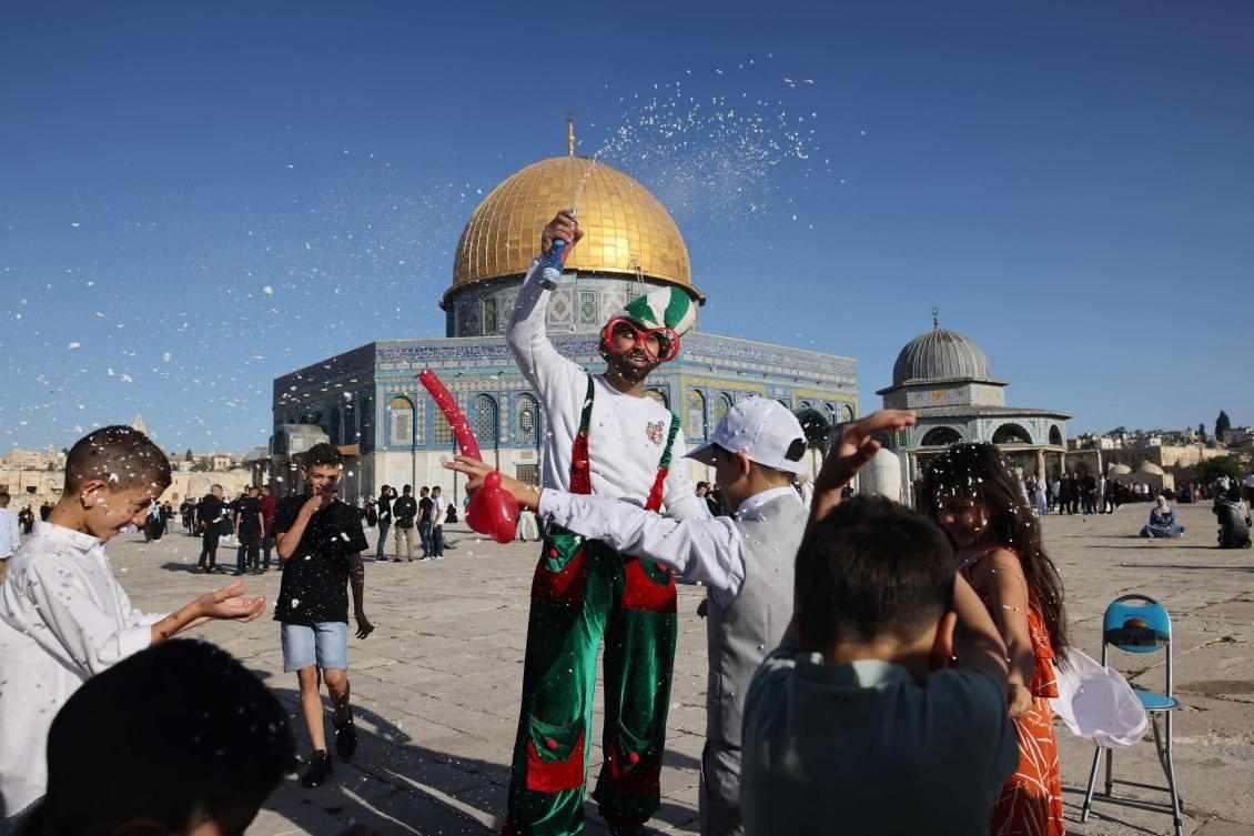 jerusalem city ramadan holy sad