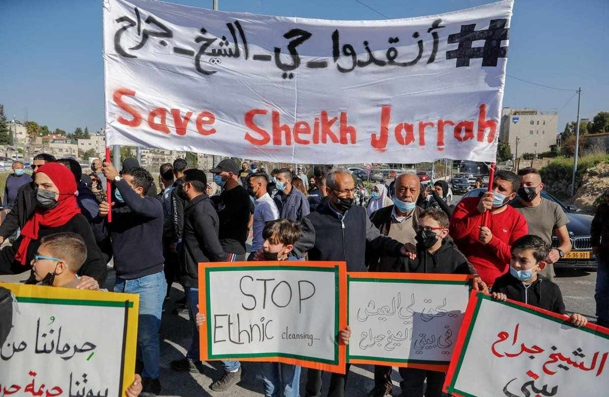 jerusalem palestinian lawyer evictions rent