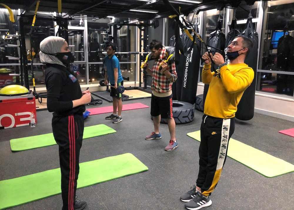 jordan gyms pandemic variants risks