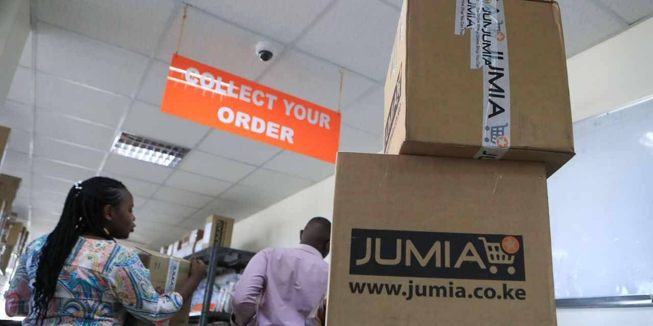 jumia shares notch straight gains