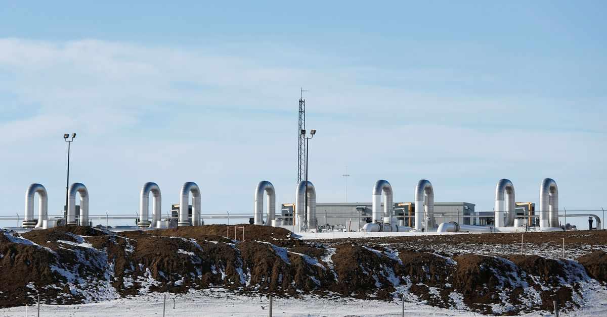 keystone permit pipeline biden reuters