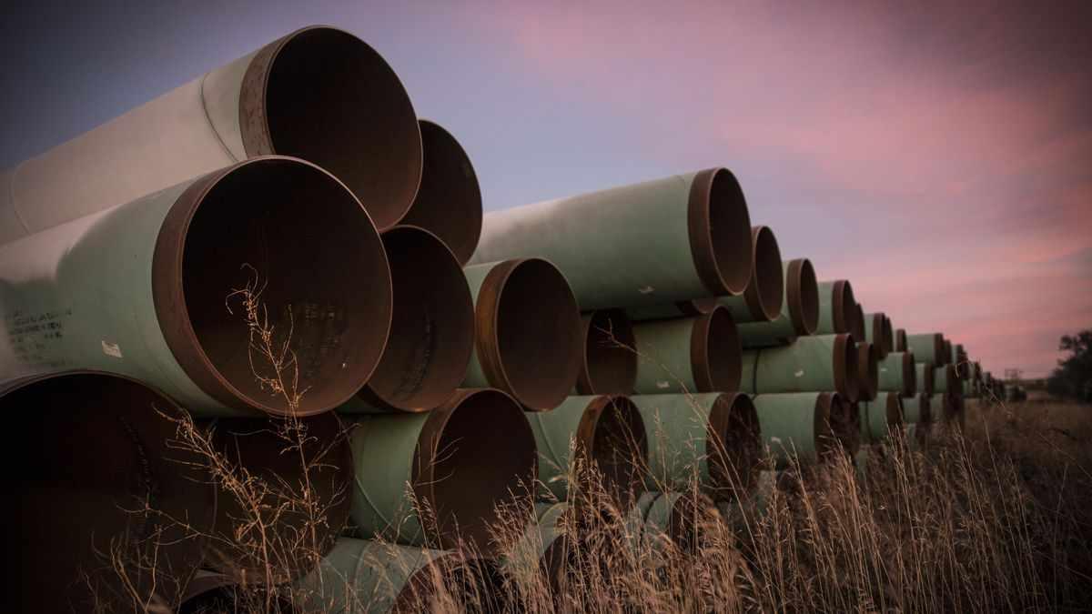 keystone pipeline project biden yanks