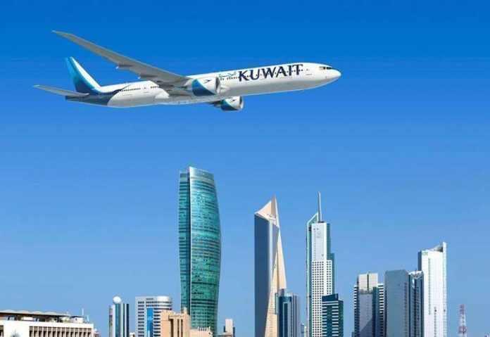 kuwait airport transit passengers foreign