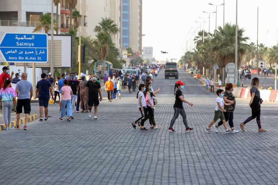 kuwait ban travel citizens covid