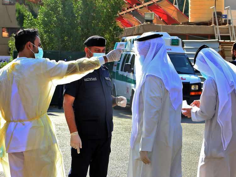 kuwait, cases, covid, deaths, cent,