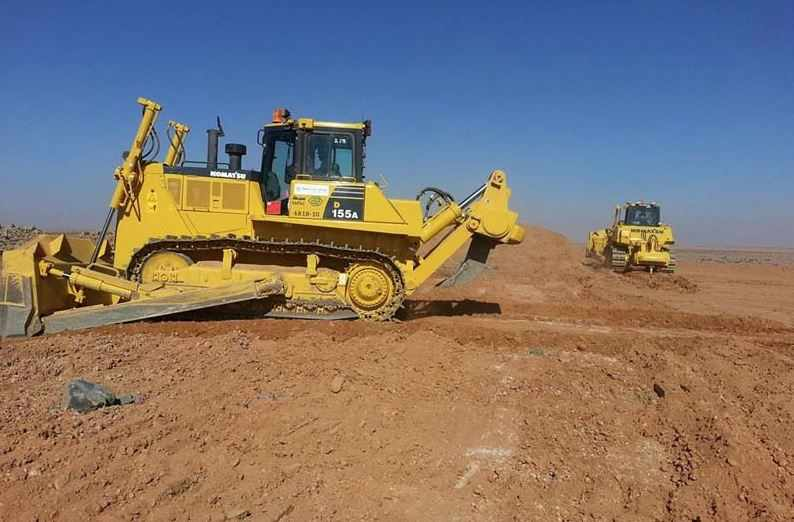 kuwait contracts contaminated soil signed