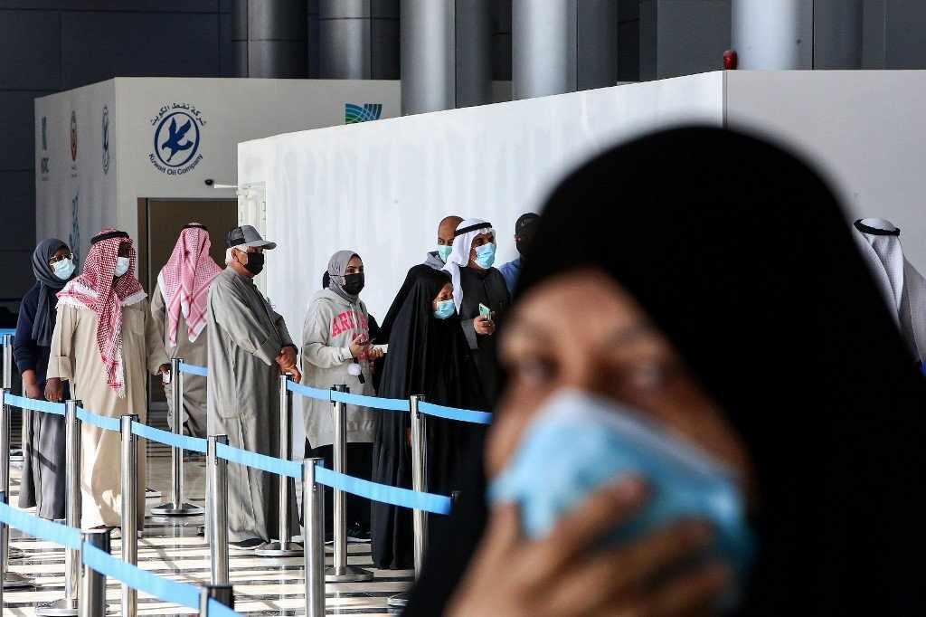 kuwait covid jabs vaccines syria