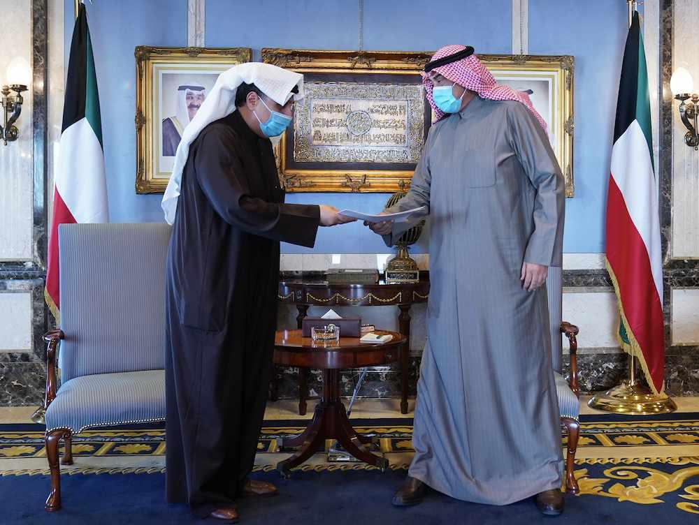 kuwait government resignation prime sabah