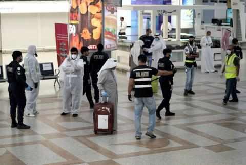 kuwait quarantine incoming vaccinated travelers
