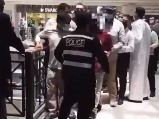 kuwait security officer covid vaccination