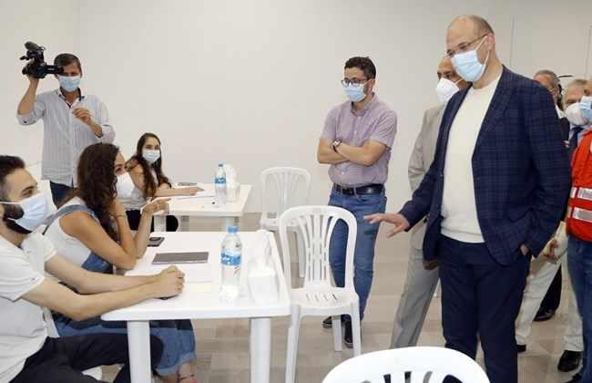 lebanon coronavirus vaccine marathon weekend