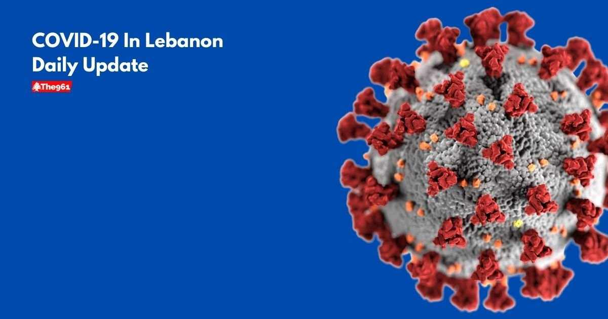 lebanon covid report today