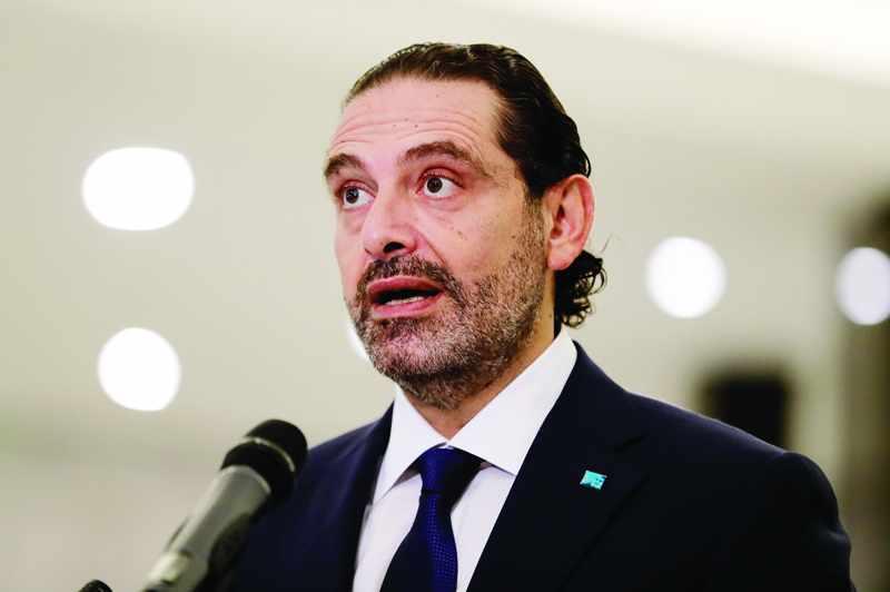 lebanon designate saad hariri govt