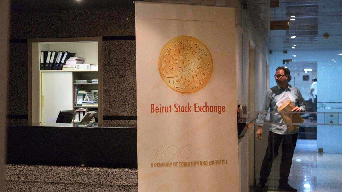 lebanon indexes stocks companies market