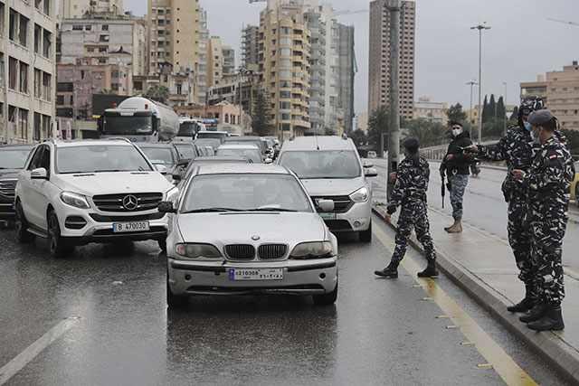 lebanon lockdown virus uptick barred