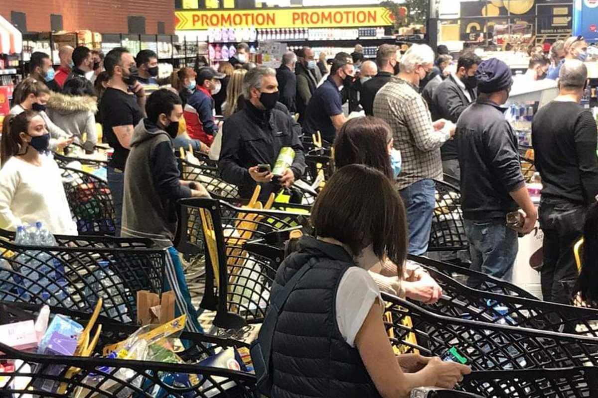 lebanon state emergency virus supermarkets