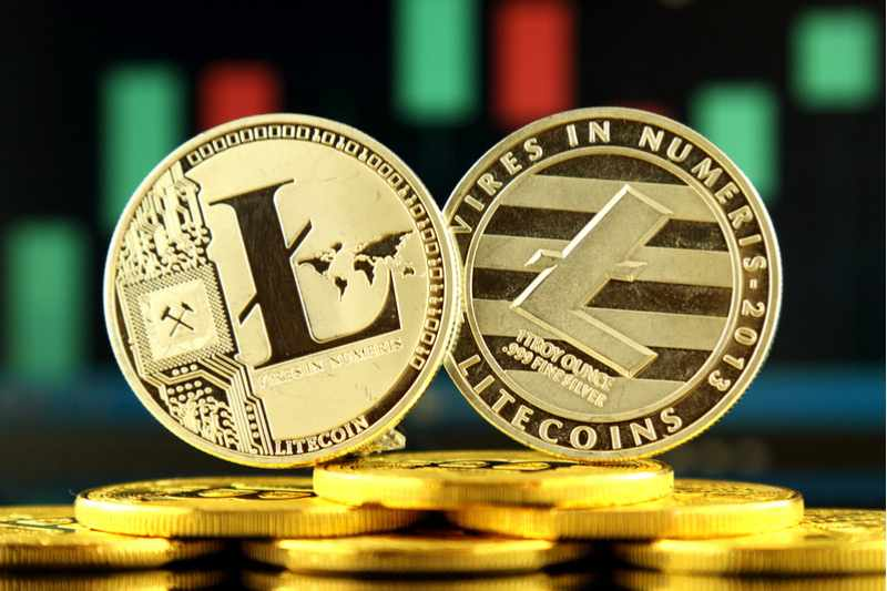 litecoin climbs investing market